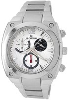 Le Château Men's 5410M_WHT Sports Dinamica Collection with Chrono and Military-Time Watch
