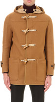 Burberry Toggle-fastened wool duffle coat