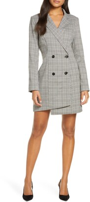 Adelyn Rae Toni Long Sleeve Suit Dress