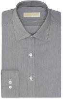 MICHAEL Michael Kors Men's Slim-Fit Non-Iron Twill Stripe Dress Shirt