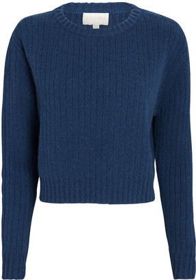 Divine Heritage Recycled Wool-Cashmere Sweater
