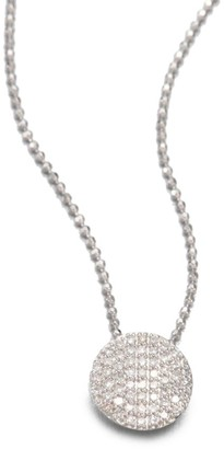 Phillips House 14K White Gold & Diamond Mini Infinity Pendant Necklace