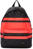 Diesel Black & Red Iron Backpack