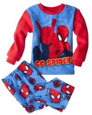 Spiderman Toddler Boys Fleece Pajama Set