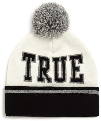 True Religion TRUE RLGN POM WATCHCAP