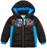 Spiderman Puffer Jacket -Toddler Boys
