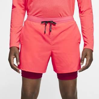 "Nike Men's 5"" 2-in-1 Running Shorts Flex Stride"