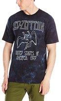 Liquid Blue Men's Led Zeppelin USA Tour '77 T-Shirt