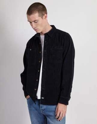 Dickies Arthurdale Long Sleeve Cord Shirt Dark Navy