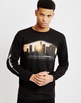 The Hundreds Dusk Long Sleeve T-Shirt Black