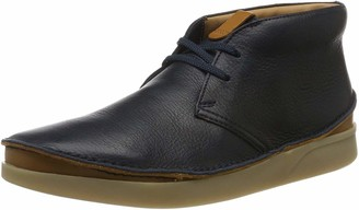 Clarks Mens Ankle Boots Blue Size: 8.5 UK