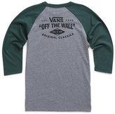 Vans Boys Original Classics Baseball Tee