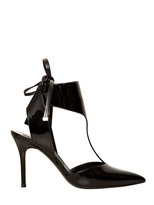 Salvatore Ferragamo 85mm Rubye Patent Leather Pointed Pumps