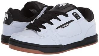 Osiris Trace (White/Black/Gum) Men's Shoes