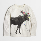 J.Crew Factory Boys' long-sleeve reindeer storybook T-shirt
