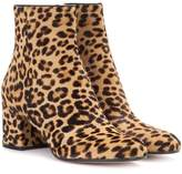 Gianvito Rossi Exclusive to mytheresa.com – calf hair ankle boots