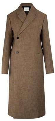 Jil Sander Lee llama fibre-wool blend coat