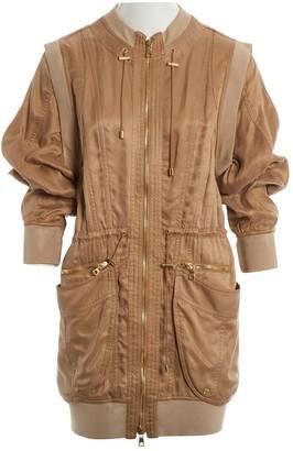 Balmain Camel Coat for Women
