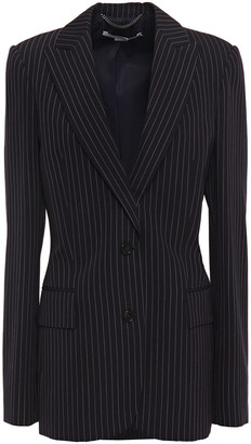 Stella McCartney Pinstriped Wool-twill Blazer