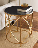 Dr. Livingston Granite-Top Side Table