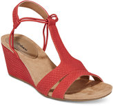 Style&Co. Style & Co. Mitzee Stretch Wedge Sandals, Only at Macy's