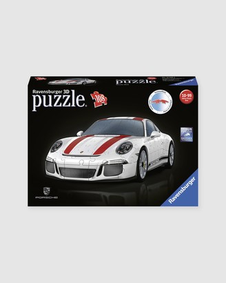 Ravensburger White Puzzles - Porsche 911R 108-Piece 3D Puzzle - Teens - Size One Size at The Iconic
