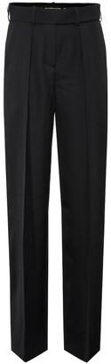Alexandre Vauthier High-rise wide-leg wool pants