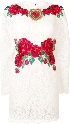 Dolce & Gabbana Rose lace dress