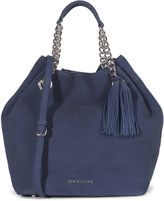 Karen Millen Slouchy Bucket Bag - Blue