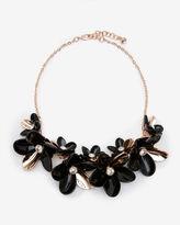 Ted Baker Swarovski Crystal statement floral necklace