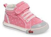 See Kai Run Infant Girl's 'Peyton' High Top Sneaker