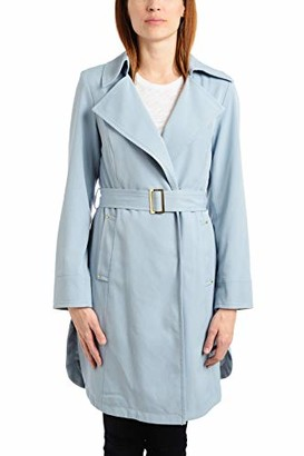 Vince Camuto Women's DNU Belted Trench Coat Rain Jacket Outerwear