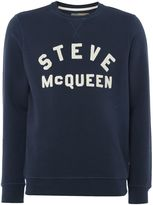 Barbour Men's Steve McQueen varisty crew neck jumper