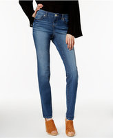 INC International Concepts Perfect Medium Blue Wash Skinny Jeans, Only at Macy's