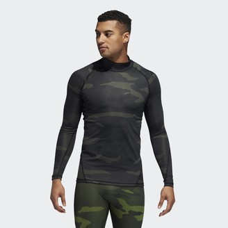 adidas Alphaskin Camouflage T-Shirt