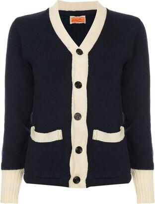 Fake Alpha Vintage 1950's knit cardigan