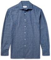Dunhill Cotton-chambray Shirt - Blue