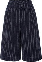 Cacharel Pinstripe Bermuda Shorts