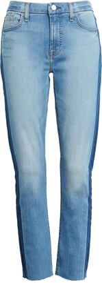JEN7 by 7 For All Mankind Straight Leg Ankle Jeans