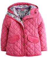 girls pink quilted jacket - ShopStyle UK