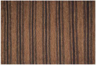Ralph Lauren Home Cliff Stripe Rug woodland/cream
