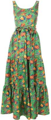 La DoubleJ Garden Print Dress