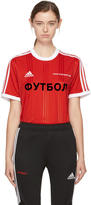 Gosha Rubchinskiy Red adidas Originals Edition T-Shirt