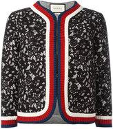 Gucci lace cropped jacket - women - Cotton/Polyamide/Polyester/Viscose - S