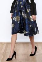 Jealous Tomato Overlay Midi Skirt