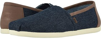 Toms Alpargata CloudBound (Dark Denim) Men's Slip on Shoes