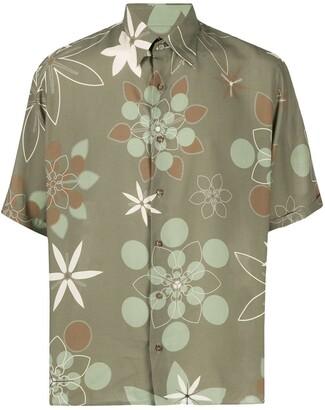 Fendi short sleeve Kaleido print shirt