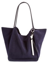 Proenza Schouler Extra Large Suede Tote - Purple