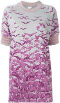 Giamba glittery stripes sweatshirt - women - Cotton/Polyester - 40