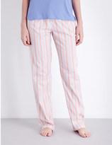 Calvin Klein Striped cotton pyjama bottoms